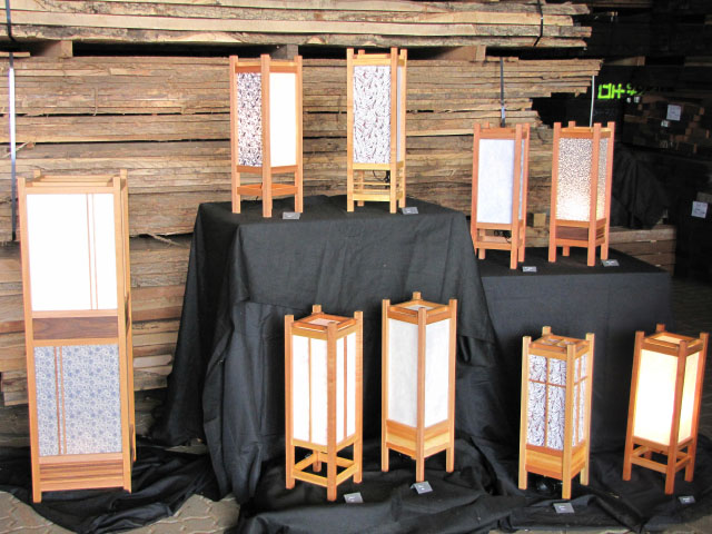 andon die japanische lampe aus holz und reispapier hannes schnelle japanische m bel und objekte. Black Bedroom Furniture Sets. Home Design Ideas